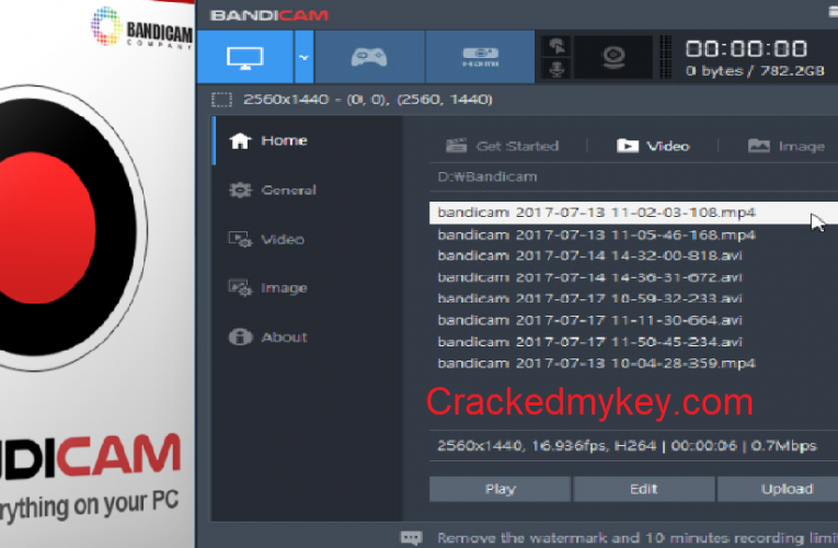 Bandicam 5.1.0.1822 Crack Full Latest Version Keygen Download