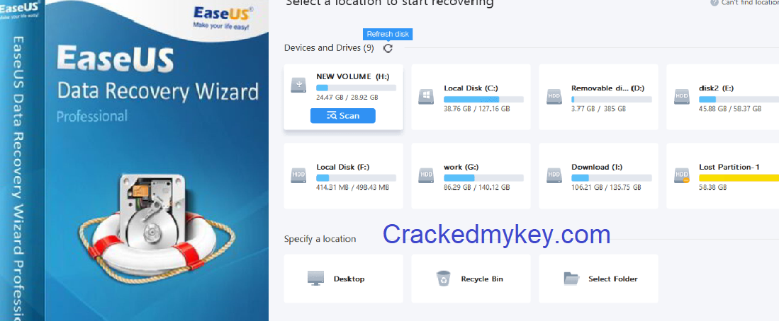 EaseUS Data Recovery Wizard License Code