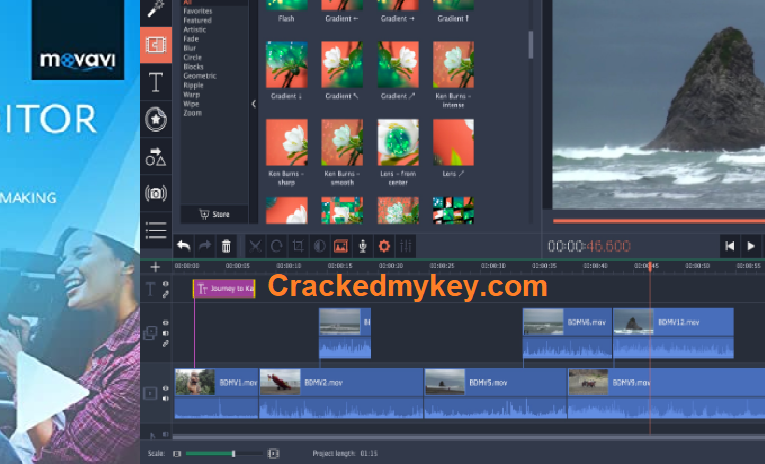 Movavi Video Editor Plus 21.0.0 Crack Full Version Activation Key