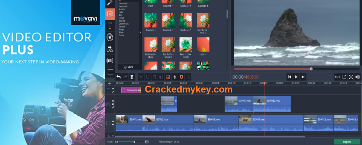 Movavi Video Editor Plus 20.4.0 Crack Full Version Activation Key