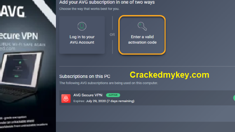 AVG Secure VPN Crack 2020 Full Latest Serial Key Free Download