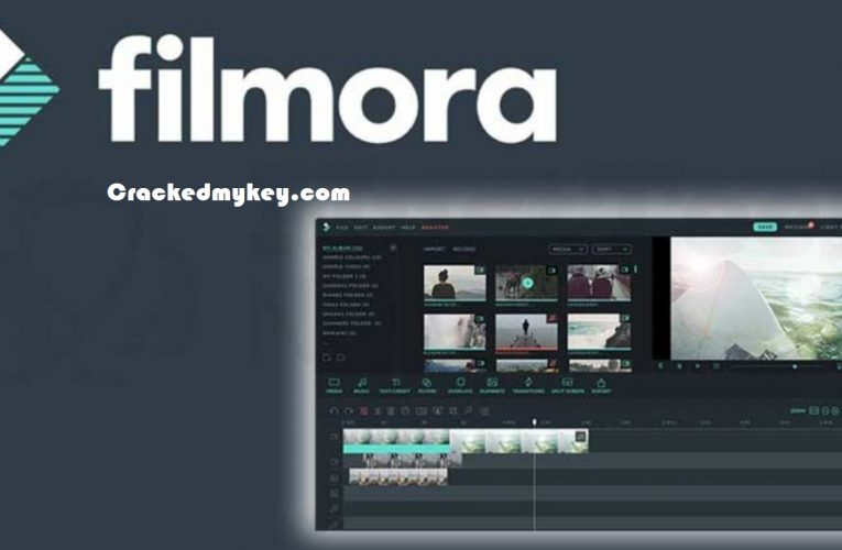 Wondershare Filmora 10.0.0.90 + Crack With Registration Code Free